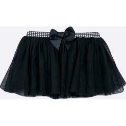 Blukids - Spódnica dziecięca 74-98 cm. Czarne spódniczki dziewczęce Blukids, z bawełny, mini. W wyprzedaży za 49,90 zł.