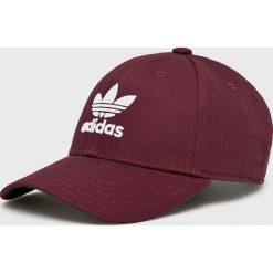 Adidas Originals - Czapka. Brązowe czapki z daszkiem męskie adidas Originals, z bawełny. Za 69,90 zł.