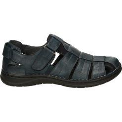 Sandały męskie skórzane: Sandały męskie - 54120910SB W8