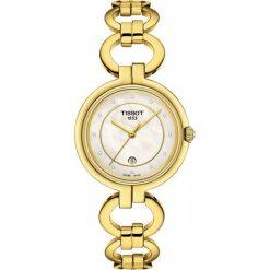 RABAT ZEGAREK TISSOT T-Lady T094.210.33.116.00. Białe zegarki męskie TISSOT, ze stali. W wyprzedaży za 1540,00 zł.