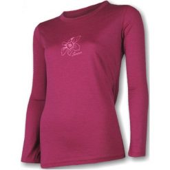 Sensor Koszulka Termoaktywna Z Długim Rękawem Merino Wool Pt W Orchidea Lila L. Czerwone bluzki sportowe damskie Sensor, m, z materiału, z długim rękawem. Za 225,00 zł.