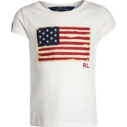T-shirty chłopięce: Polo Ralph Lauren FLAG Tshirt z nadrukiem nevis