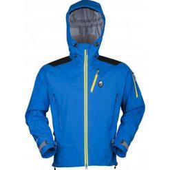 High Point Kurtka Outdoorowa Protector 4.0 Jacket Blue L. Białe kurtki sportowe męskie marki Bambi, l, z nadrukiem, z okrągłym kołnierzem. W wyprzedaży za 1299,00 zł.