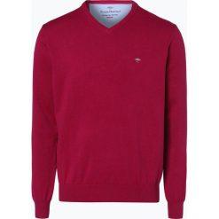 Swetry klasyczne męskie: Fynch Hatton – Sweter męski, lila