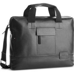 Torba na laptopa STRELLSON - Connor 4010002370 Black 900. Czarne torby na laptopa marki Strellson, ze skóry. W wyprzedaży za 669,00 zł.