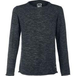 Bejsbolówki męskie: Black Premium by EMP Welcome To The Universe Bluza ciemnoszary (Anthracite)