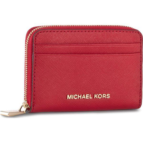 55cc85ceb70b7 Mały Portfel Damski MICHAEL KORS - Money Pieces 32H7GF6Z5L Bright Red -  Czerwone portfele damskie Michael Kors. Za 279