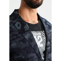 Marynarki męskie slim fit: Armani Exchange Marynarka garniturowa light blue
