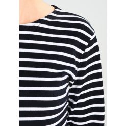 Bluzki asymetryczne: Armor lux MARINIERE HERITAGE Bluzka z długim rękawem rich navy/blanc