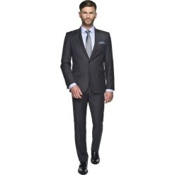 Garnitur sorento 303 grafit custom fit. Szare garnitury marki Recman, m, z długim rękawem. Za 199,00 zł.