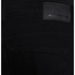 Jeansy męskie regular: Brooklyn's Own by Rocawear Jeansy Relaxed Fit black denim