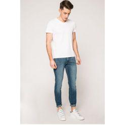 Wrangler - Jeansy Larston. Niebieskie jeansy męskie slim marki House, z jeansu. W wyprzedaży za 199,90 zł.