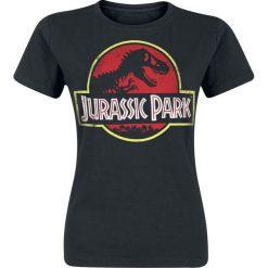 Bluzki damskie: Jurassic Park Classic Logo Koszulka damska czarny