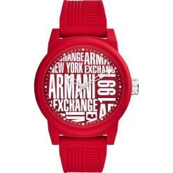 Armani Exchange Zegarek rot. Czarne zegarki męskie marki Armani Exchange, l, z materiału, z kapturem. Za 579,00 zł.