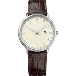 Tommy Hilfiger - Zegarek 1791338. Szare zegarki męskie TOMMY HILFIGER, szklane. W wyprzedaży za 539,90 zł.