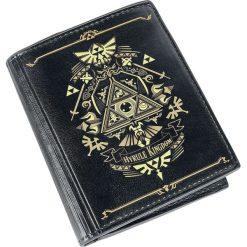 The Legend Of Zelda Hyrule Kingdom Portfel czarny/złoty. Czarne portfele męskie The Legend Of Zelda, z nadrukiem. Za 99,90 zł.