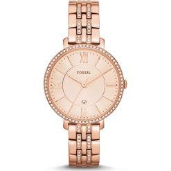 Zegarek FOSSIL - Jacqueline ES3546 Rose Gold/Rose. Różowe zegarki damskie marki Fossil, szklane. Za 649,00 zł.