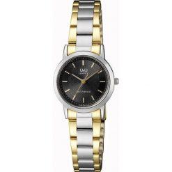 Zegarek Q&Q Damski Klasyczny QA39-402 srebrno-złoty. Szare zegarki damskie Q&Q, złote. Za 135,89 zł.