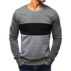 Bluzy męskie: Bluza męska bez kaptura antracytowa (bx3026)