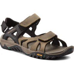 Sandały męskie skórzane: Sandały MERRELL - All Out Blaze Sieve Convert J12649  Stucco