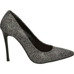 Czółenka - 5043 904 MUL. Czarne buty ślubne damskie Venezia, ze skóry. Za 169,00 zł.