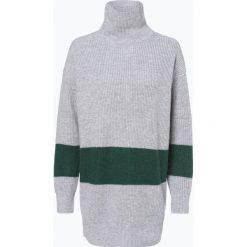 Calvin Klein Womenswear - Sweter damski z dodatkiem kaszmiru i moheru, beżowy. Brązowe swetry klasyczne damskie Calvin Klein Womenswear, m, z dzianiny. Za 999,95 zł.