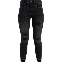 Only Petite ONLKENDELL ANKLE ZIP Jeans Skinny Fit grey denim. Szare rurki damskie Only Petite, petite. Za 169,00 zł.