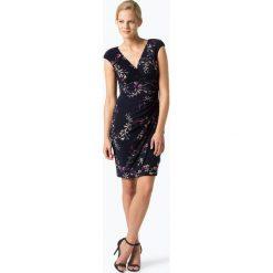 LAUREN RALPH LAUREN - Sukienka damska, niebieski. Niebieskie sukienki hiszpanki Lauren Ralph Lauren, z kopertowym dekoltem, kopertowe. Za 749,95 zł.