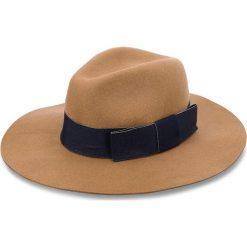 Kapelusz TWINSET - Cappello OA8T91  Bic. Cookie/Blu Notte 03137. Brązowe kapelusze damskie Twinset, z materiału. Za 389,00 zł.