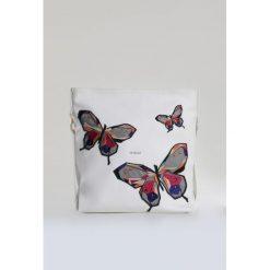 Torebki klasyczne damskie: Torebka z kolorowymi motylami