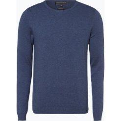 Finshley & Harding - Sweter męski, niebieski. Czarne swetry klasyczne męskie marki Finshley & Harding, w kratkę. Za 129,95 zł.