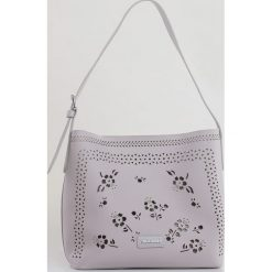 Monnari - Torebka. Szare torebki klasyczne damskie Monnari, z materiału, duże. W wyprzedaży za 149,90 zł.