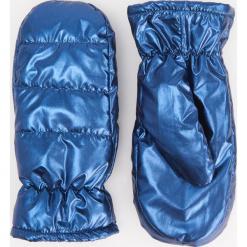 Puszyste rękawiczki z jednym palcem - Granatowy. Niebieskie rękawiczki damskie Reserved. Za 49,99 zł.
