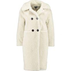 Płaszcze damskie pastelowe: Topshop TEDDY Płaszcz wełniany /Płaszcz klasyczny cream