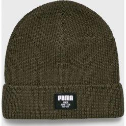 Puma - Czapka. Szare czapki zimowe męskie Puma, na zimę, z dzianiny. Za 79,90 zł.