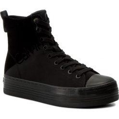 Sneakersy CALVIN KLEIN JEANS - Zazah R0643 Black/Black. Czarne sneakersy damskie marki Calvin Klein Jeans, z gumy. Za 509,90 zł.