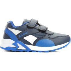 Granatowe Buty Sportowe Progressive. Szare buty sportowe chłopięce Born2be, z okrągłym noskiem, na płaskiej podeszwie, na rzepy. Za 59,99 zł.