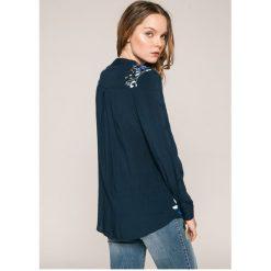 Desigual - Koszula. Szare koszule damskie marki Desigual, l, z tkaniny, casualowe, z długim rękawem. W wyprzedaży za 219,90 zł.