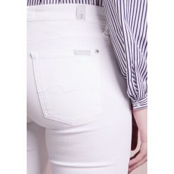 Rurki damskie: 7 for all mankind Jeans Skinny Fit illusion pure white