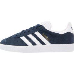 Adidas Originals GAZELLE Tenisówki i Trampki collegiate navy/white/gold metallic. Niebieskie tenisówki damskie marki adidas Originals, z materiału. Za 399,00 zł.