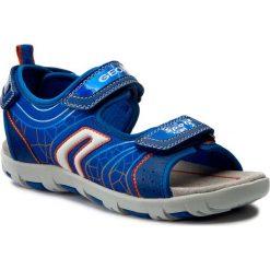 Sandały GEOX - J Sand.Pianeta A J7264A 011FE C0685 D Królewsky/Pomarańcz. Niebieskie sandały męskie skórzane marki Geox. W wyprzedaży za 209,00 zł.