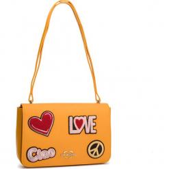 Torebka LOVE MOSCHINO - JC4083PP17LJ0400 Giallo. Żółte torebki klasyczne damskie Love Moschino, ze skóry ekologicznej. Za 909,00 zł.