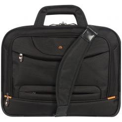 """D-Lex LX-900N-BK 13.3"""" czarna. Czarne torby na laptopa D-lex, w paski, z nylonu. Za 159,90 zł."""