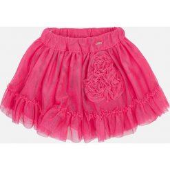 Mayoral - Spódnica dziecięca 80-98 cm. Różowe spódniczki dziewczęce Mayoral, z bawełny, mini. Za 99,90 zł.