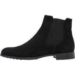 Pretty Ballerinas CROSTINA Ankle boot black. Czarne botki damskie skórzane marki Pretty Ballerinas. Za 949,00 zł.