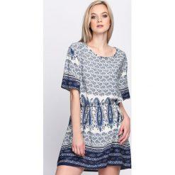 Sukienki: Niebieska Sukienka The Saturday