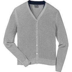 Sweter rozpinany Regular Fit bonprix jasnoszary melanż. Czerwone kardigany męskie marki Reserved, l. Za 89,99 zł.