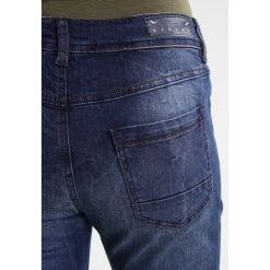 Rurki damskie: Sisley Jeansy Slim Fit blue denim