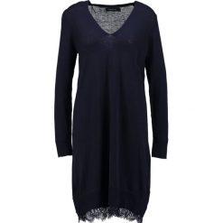 Sukienki dzianinowe: Cortefiel Sukienka dzianinowa dark blue