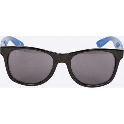 Vans - Okulary V00LC0PH1. Brązowe okulary przeciwsłoneczne męskie marki Vans, z materiału, prostokątne. Za 69,90 zł.